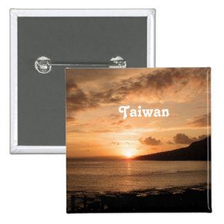 Puesta del sol de Taiwán Pin