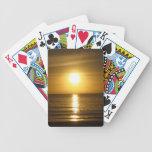 Puesta del sol de Tangalooma Baraja Cartas De Poker