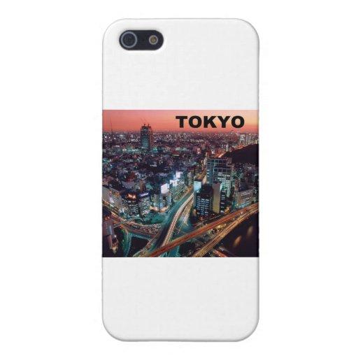 Puesta del sol de Tokio Japón (St.K) iPhone 5 Cobertura