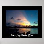 Puesta del sol de Tortuguero - Costa Rica que sorp Impresiones