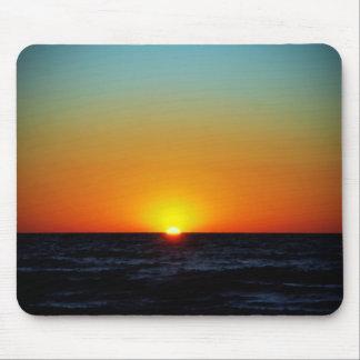 Puesta del sol de Venecia Alfombrillas De Raton
