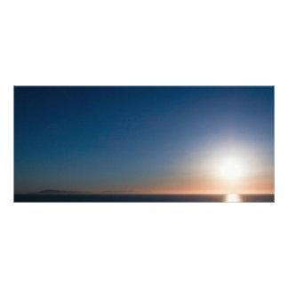 Puesta del sol de Ventura Lona Publicitaria
