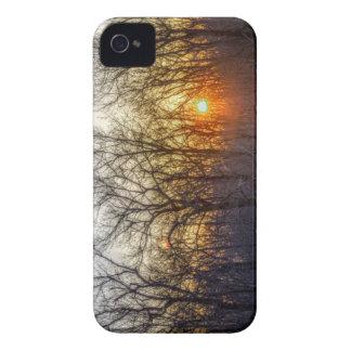 Puesta del sol de Williamsport iPhone 4 Case-Mate Cobertura