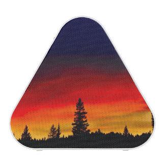 Puesta del sol de Yellowstone Altavoz Bluetooth