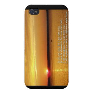 Puesta del sol del 41:10 de Isaías iPhone 4/4S Carcasa