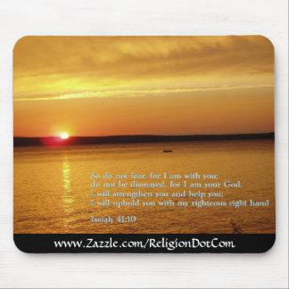 Puesta del sol del 41:10 de Isaías Tapete De Ratón