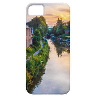 Puesta del sol del canal de Hungerford iPhone 5 Case-Mate Coberturas