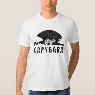 Puesta del sol del Capybara Poleras