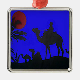 Puesta del sol del cielo azul del safari de Hakuna Ornamento Para Reyes Magos