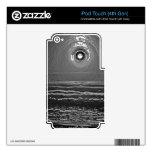 Puesta del sol del cromo iPod touch 4G skins