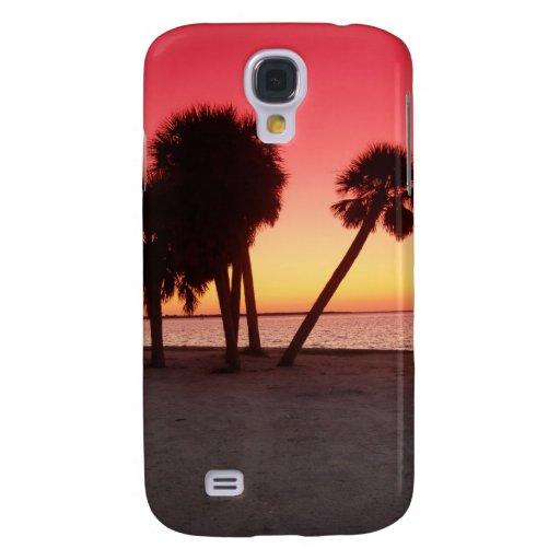 Puesta del sol del golfo de la Florida