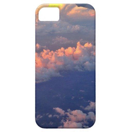 Puesta del sol del iphone del cielo iPhone 5 carcasa