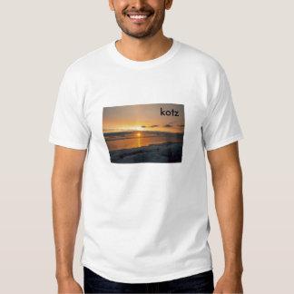 puesta del sol del kotzebue, kotz remera
