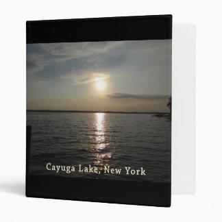"""Puesta del sol del lago Cayuga Carpeta 1"""""""