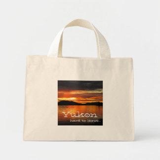 Puesta del sol del lago Fox; Recuerdo del Bolsa De Tela Pequeña