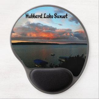 Puesta del sol del lago Hubbard Alfombrilla De Raton Con Gel