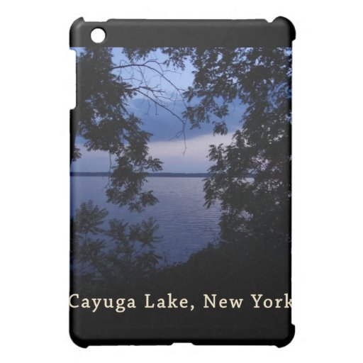 Puesta del sol del lago NY Cayuga