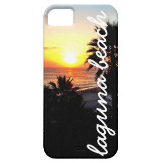 Puesta del sol del Laguna Beach iPhone 5 Funda