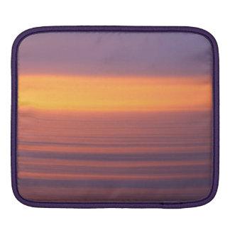 Puesta del sol del movimiento fundas para iPads
