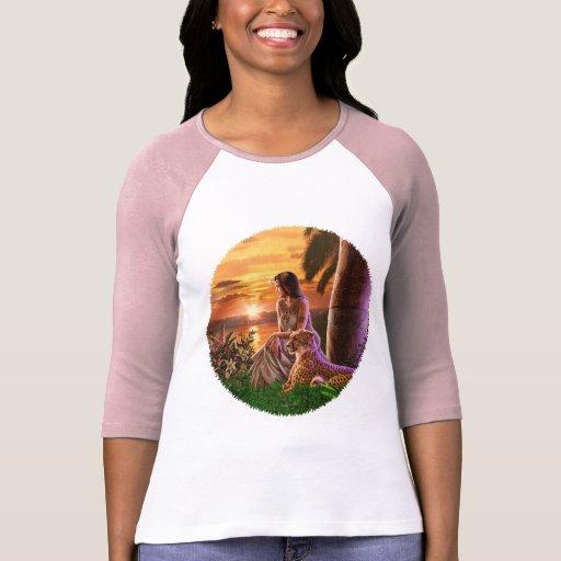 """""""Puesta del sol del Nilo """" Camisetas"""