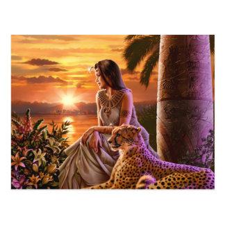 """""""Puesta del sol del Nilo """" Tarjetas Postales"""