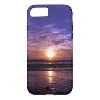Puesta del sol del océano funda iPhone 7