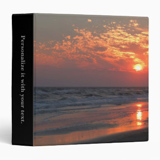 Puesta del sol del océano - isla del roble NC