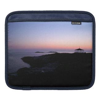 Puesta del sol del océano manga de iPad