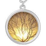 Puesta del sol del otoño joyeria personalizada
