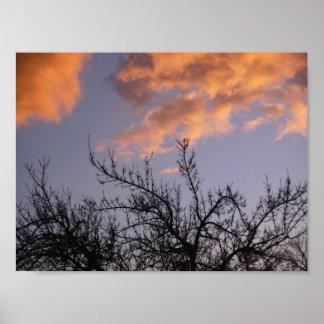 """""""Puesta del sol del otoño"""" por el mDarkPoet Impresiones"""