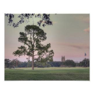 Puesta del sol del parque de Audubon Arte Fotografico