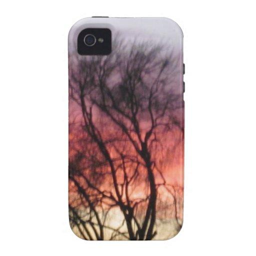 Puesta del sol del pleno invierno de Marin - paisa Vibe iPhone 4 Carcasa
