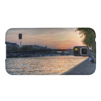 Puesta del sol del Sena Funda Para Galaxy S5