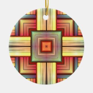 Puesta del sol del sudoeste ornamento para arbol de navidad
