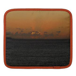Puesta del sol del sur .2. de la roca de Devon Gar Fundas Para iPads