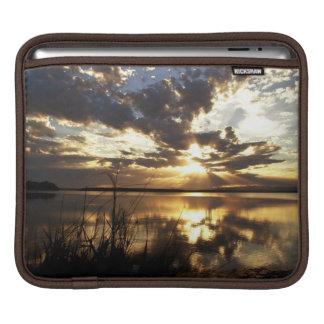 Puesta del sol divina 1 fundas para iPads