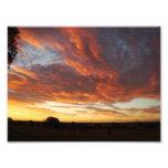 Puesta del sol dramática arte con fotos