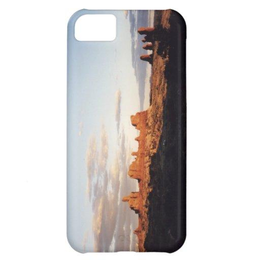 Puesta del sol en arcos, Utah Funda Para iPhone 5C