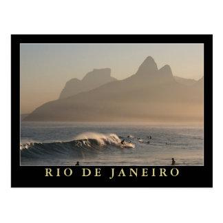 """""""Puesta del sol en Arpoador, postal de Río de Jane"""