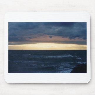 Puesta del sol en Cape May, New Jersey Alfombrilla De Ratones