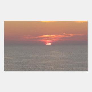 Puesta del sol en Clearwater Rectangular Altavoz