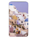 Puesta del sol en el aceite, Santorini 2 Funda Acolchada Para Móvil