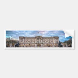 Puesta del sol en el Buckingham Palace, Londres Pegatina Para Auto