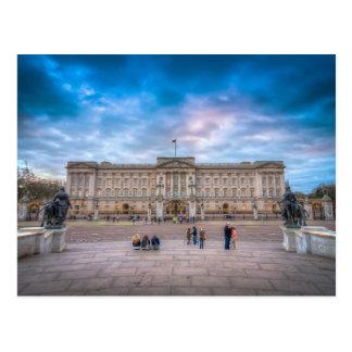 Puesta del sol en el Buckingham Palace, Londres Tarjetas Postales