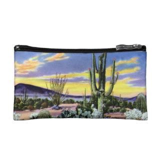 Puesta del sol en el desierto en New México