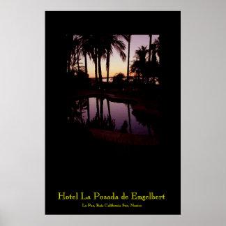 Puesta del sol en el hotel La Posada de Engelbert  Impresiones