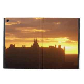 Puesta del sol en el hotel Newquay Cornualles