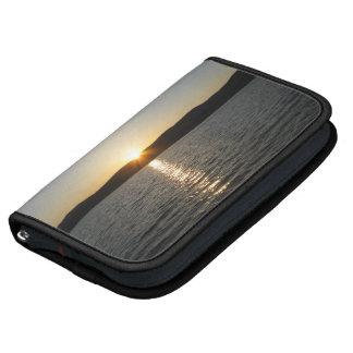 Puesta del sol en el lago Onota: Horizontal Organizador