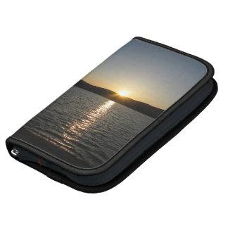 Puesta del sol en el lago Onota: Vertical Organizadores
