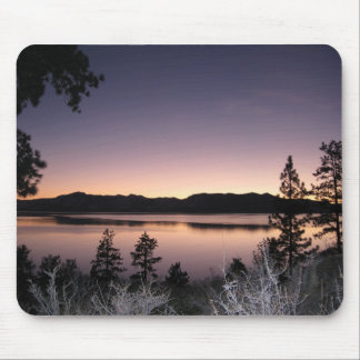 Puesta del sol en el lago Tahoe Tapetes De Ratón